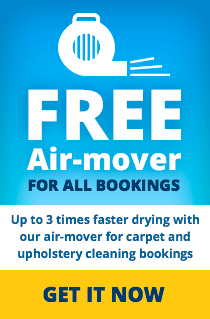 Free air-mover with cleaning summer deal